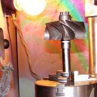 Electron beam welding of a turbocompressor rotor