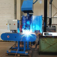 Automatic machine type  PZ - AZS for welding interlocking groups