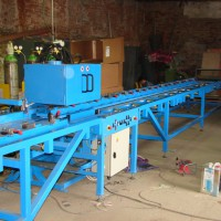 Automatic machine type  PZ - ANP for welding beam elements