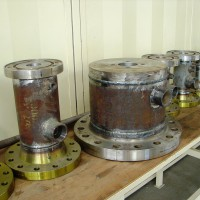 Arc welding of armatures for special drilling heads