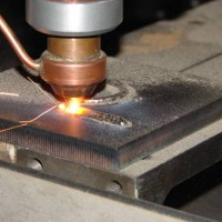 Laser deposition of surface layers