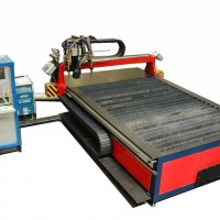 Plasma cutting centre type PZ-RCP 3020 combi with a  couple of torches destined for