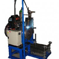 Automatic machine type  PZ - PORFIX for welding rotary parts